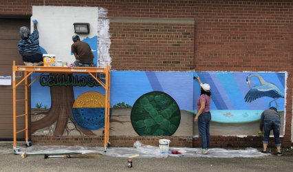New mural celebrates fusion of science and art – Channel 3000